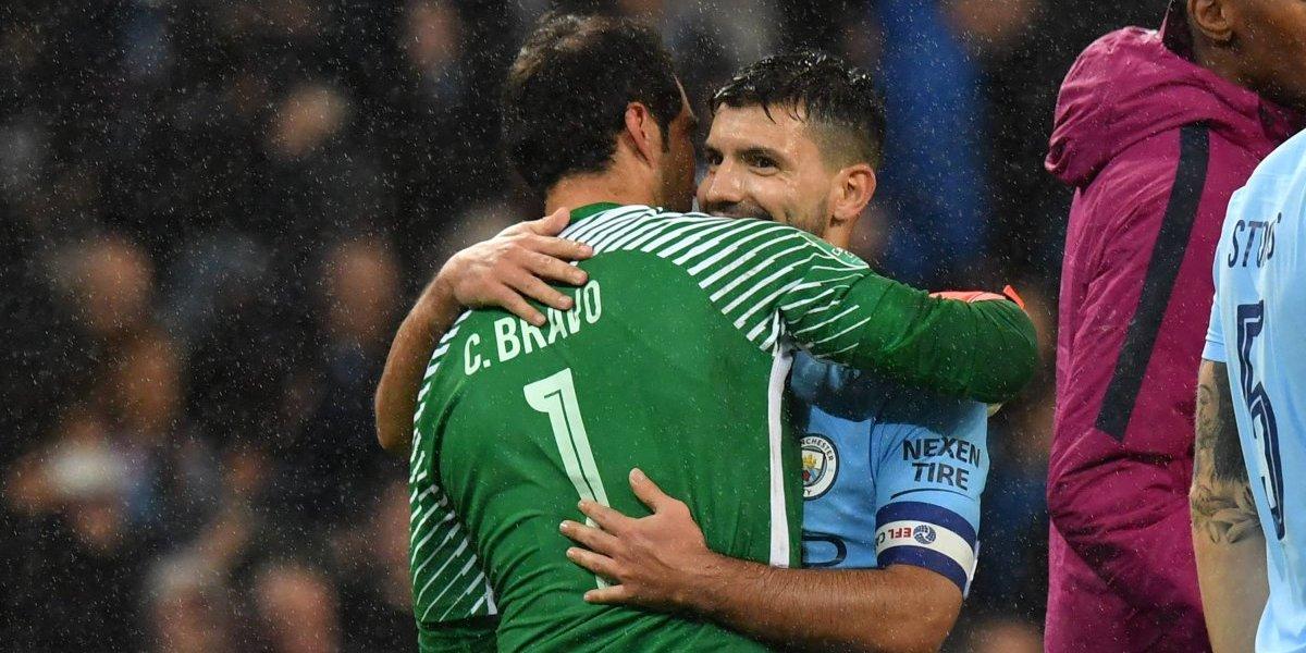 Minuto a minuto: Bravo sale de la banca para ser titular con el City en la Copa de la Liga