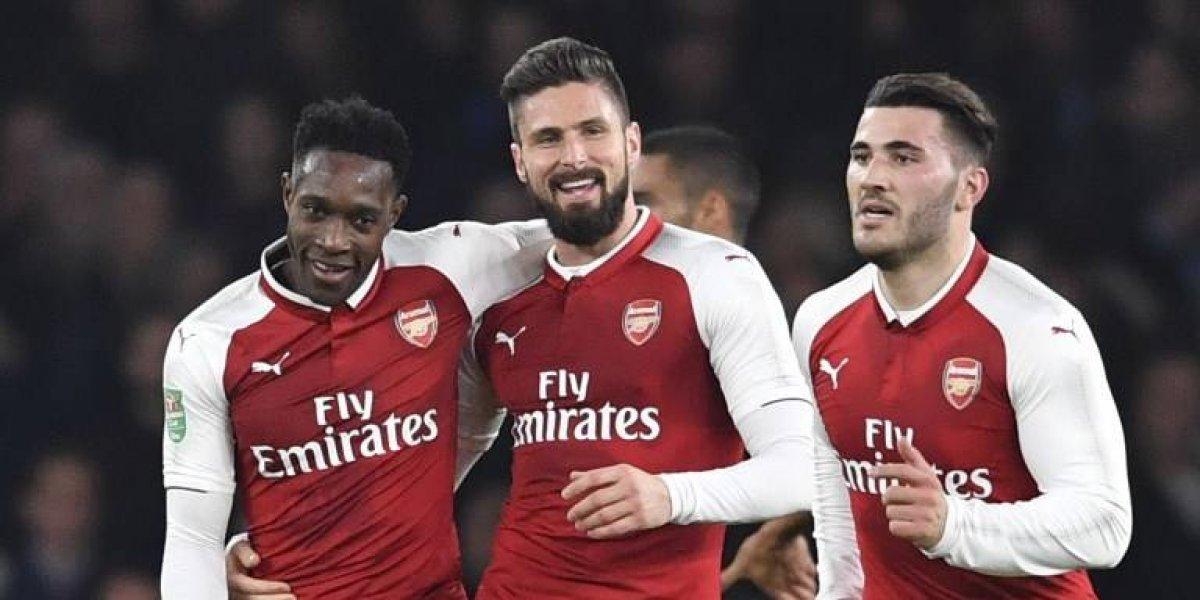 Arsenal festejó el cumpleaños de Alexis Sánchez avanzando a las semifinales de la Copa de la Liga