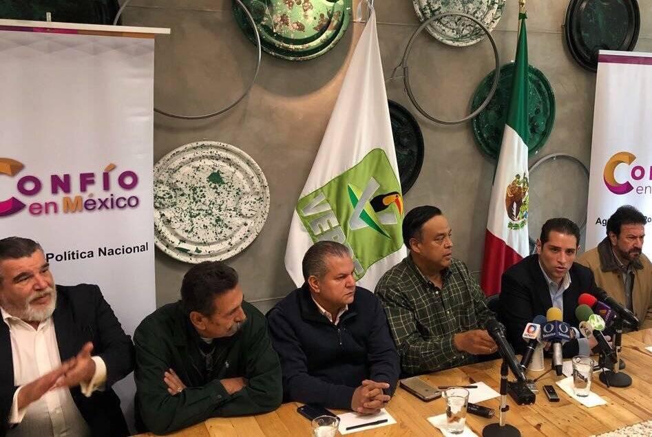 Salvador Cosío no ira por la vía independiente, sino con el Verde