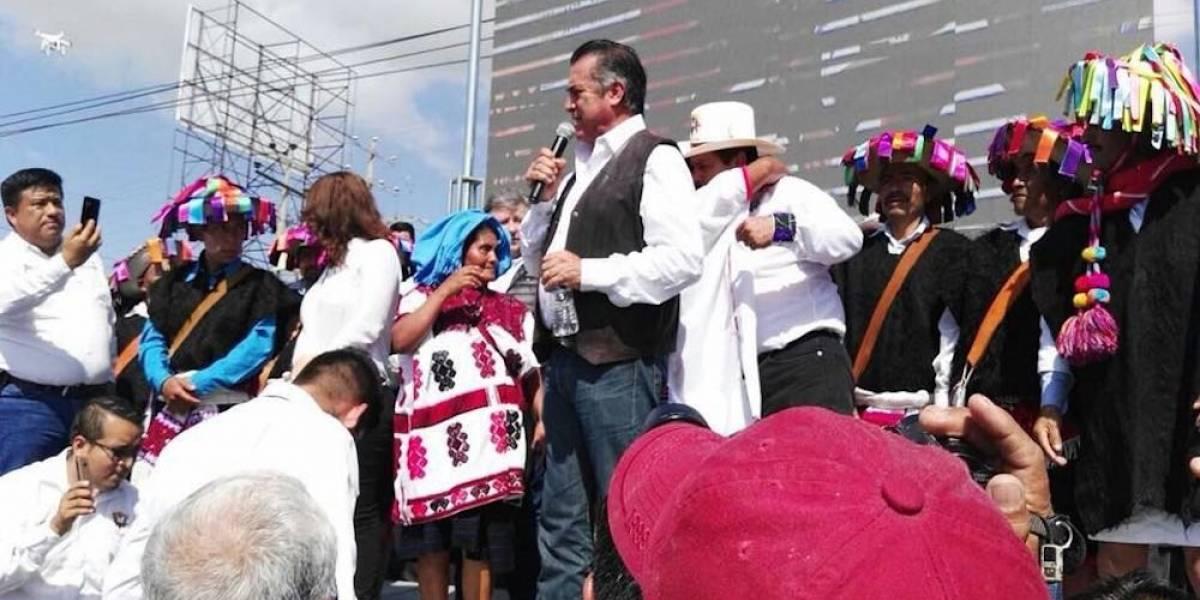'El Bronco' apadrina a candidato independiente en Chiapas