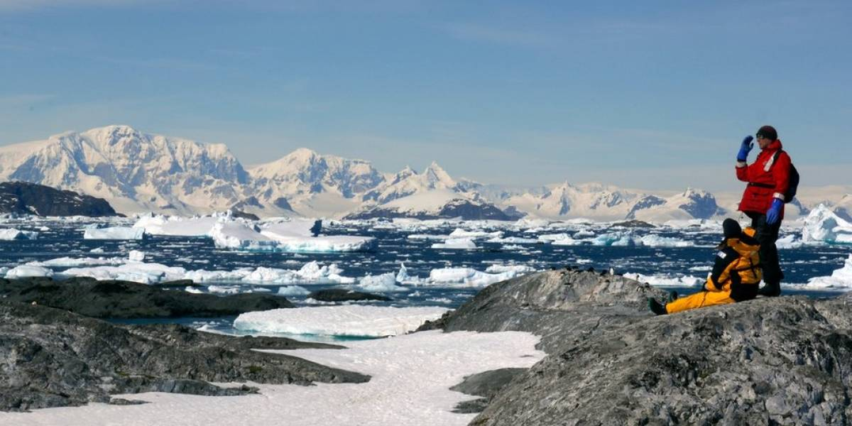 Escucha los espeluznantes sonidos en la plataforma de hielo antártico
