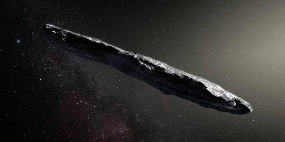 """Misterioso objeto """"alienígena"""" em forma de charuto pode ser apenas rocha congelada, dizem cientistas"""