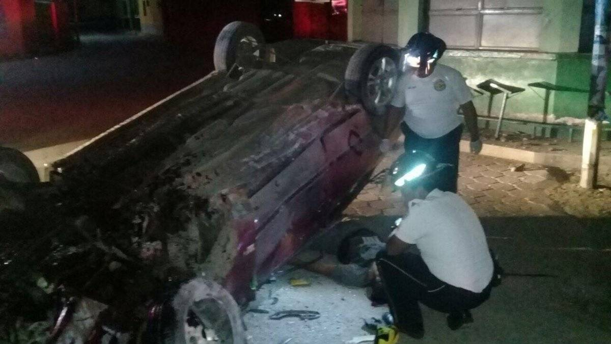 accidente en Zacapa