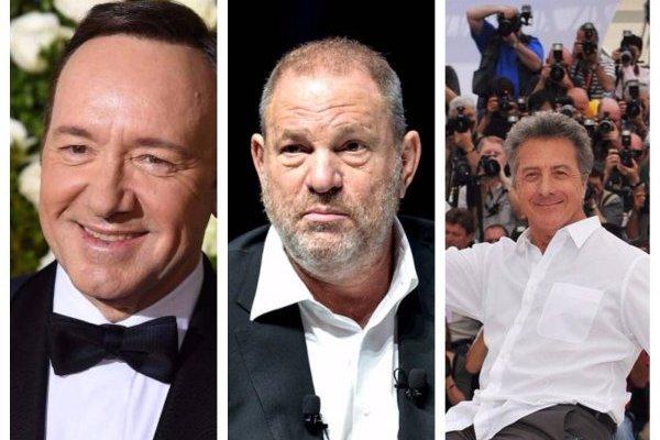 Famosos acusados acoso sexual