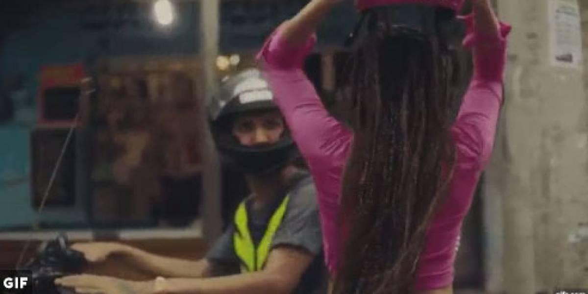 Anitta recebe elogio do Detran-RJ por clipe de 'Vai Malandra'