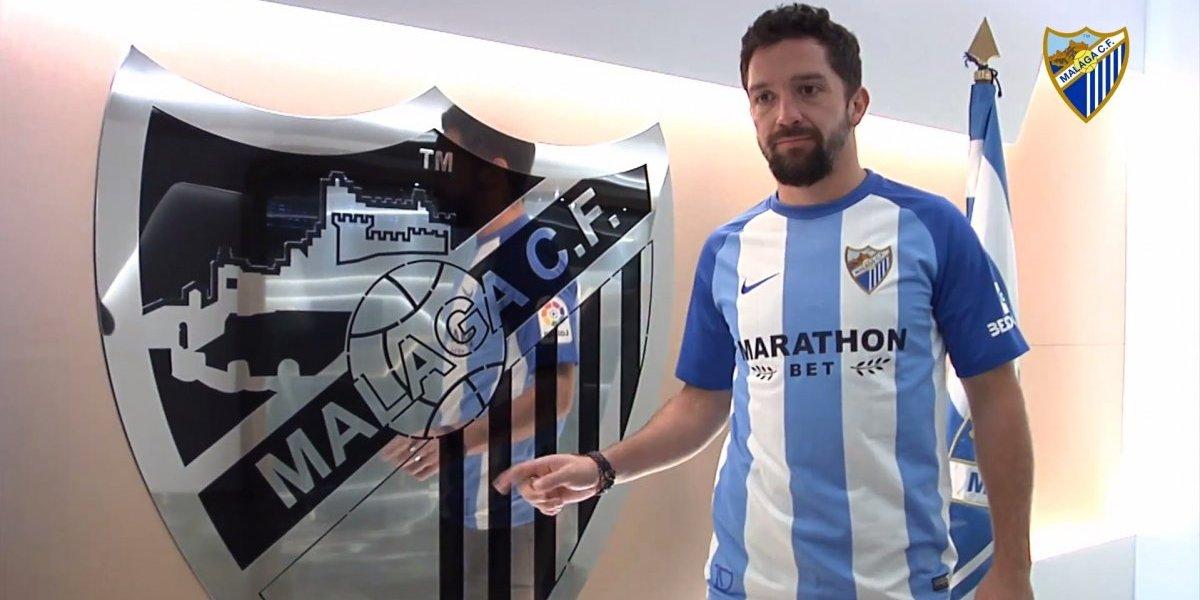 Manuel Iturra vuelve como la salvación de Málaga y ya tuvo su primer entrenamiento