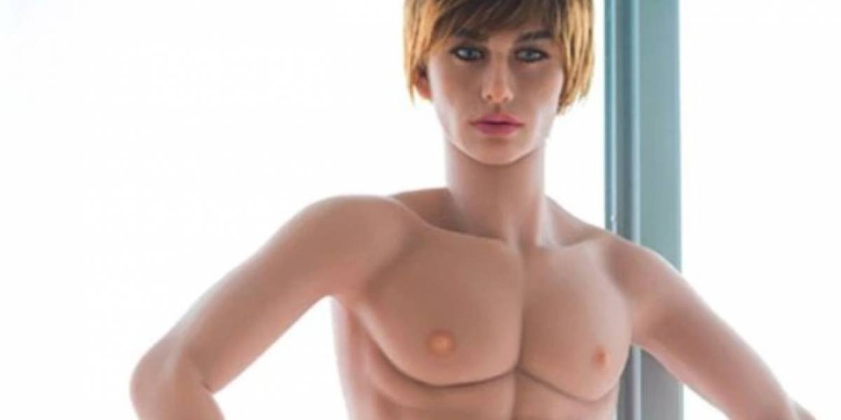 El extraño muñeco sexual de silicona que se parece a Justin Bieber