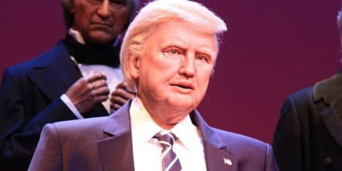Un robot de Donald Trump es la nueva atracción de Disney World