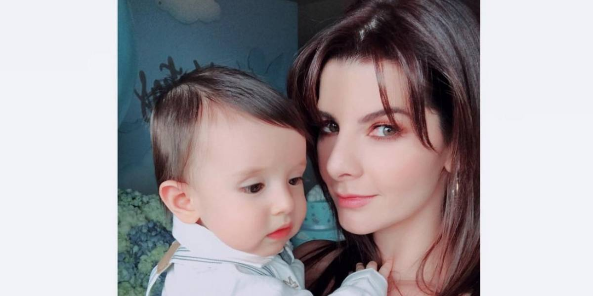 Carolina Cruz ahora es criticada por la comida que da a su hijo