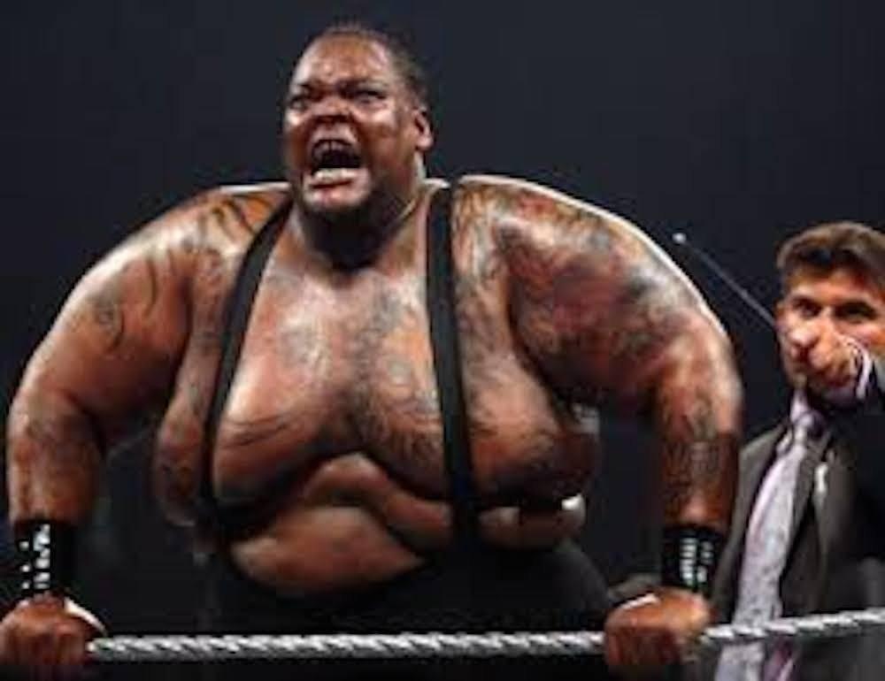 BIG DADDY: Nelson Frazier Jr. mejor conocido como Big Daddy tenía un tamaño impresionante. Pesaba 224 kilogramos y eso lo hacía temible.