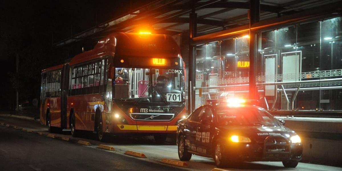 Asaltan por segunda vez una unidad de la L6 del Metrobús