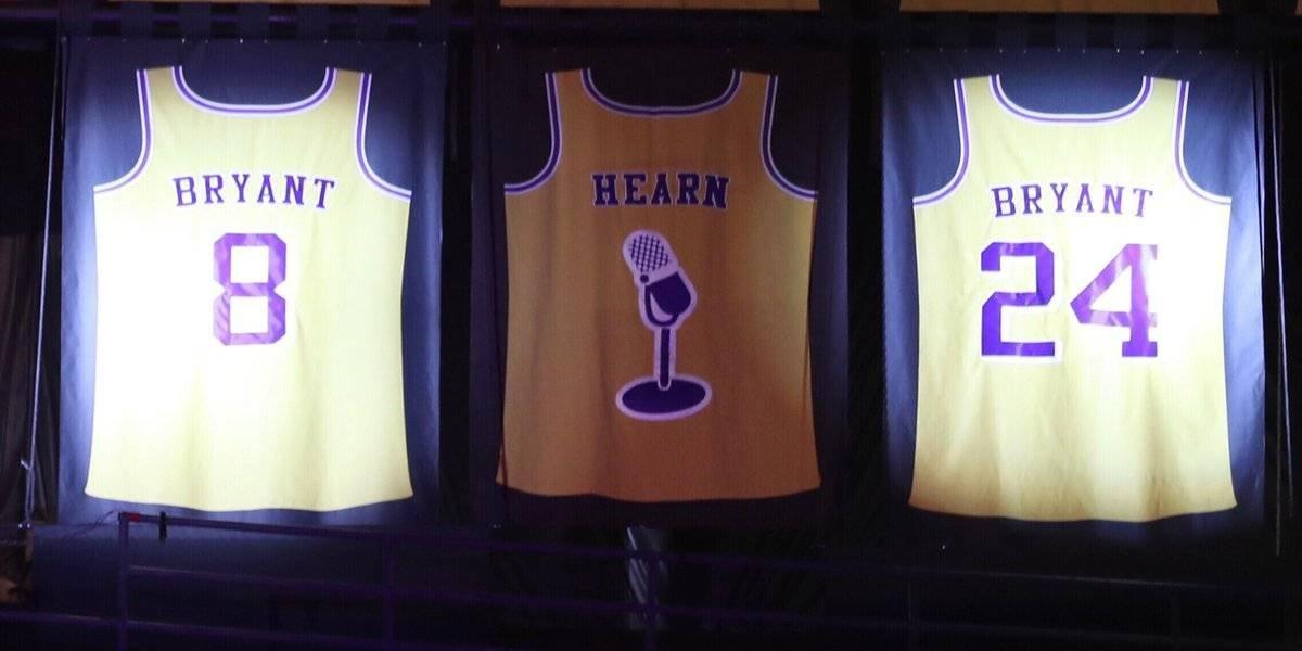 ¡Emotivo! Lakers retiran los números 8 y 24 de Kobe Bryant