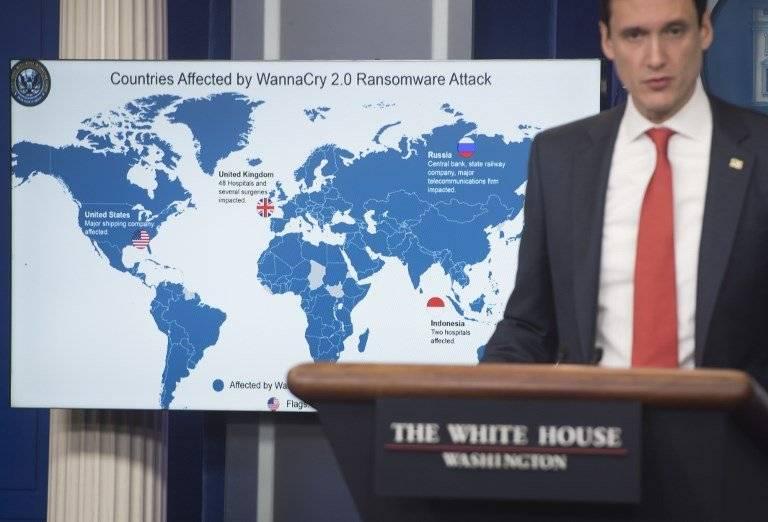 Tom Bossert, asesor de seguridad interna estadounidense