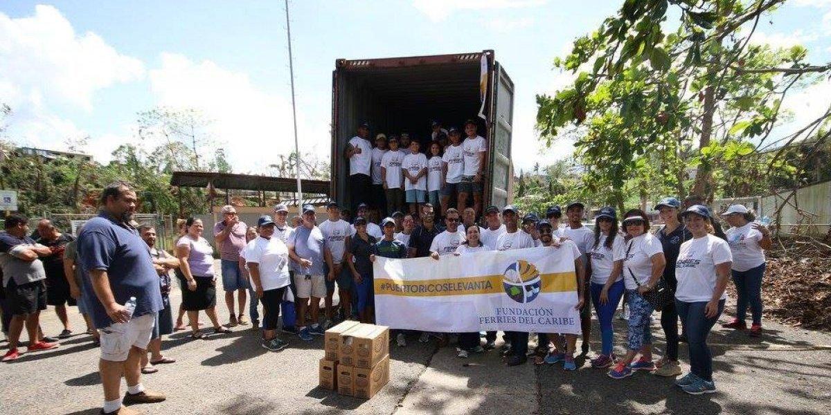 Fundación Ferries del Caribe entrega ayuda a 13,500 familias de damnificados