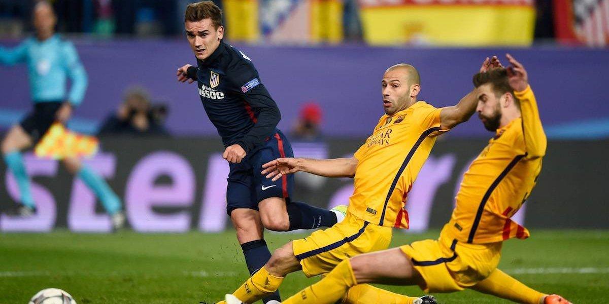 Atlético de Madrid denuncia a Barcelona por intentar fichaje de Griezmann