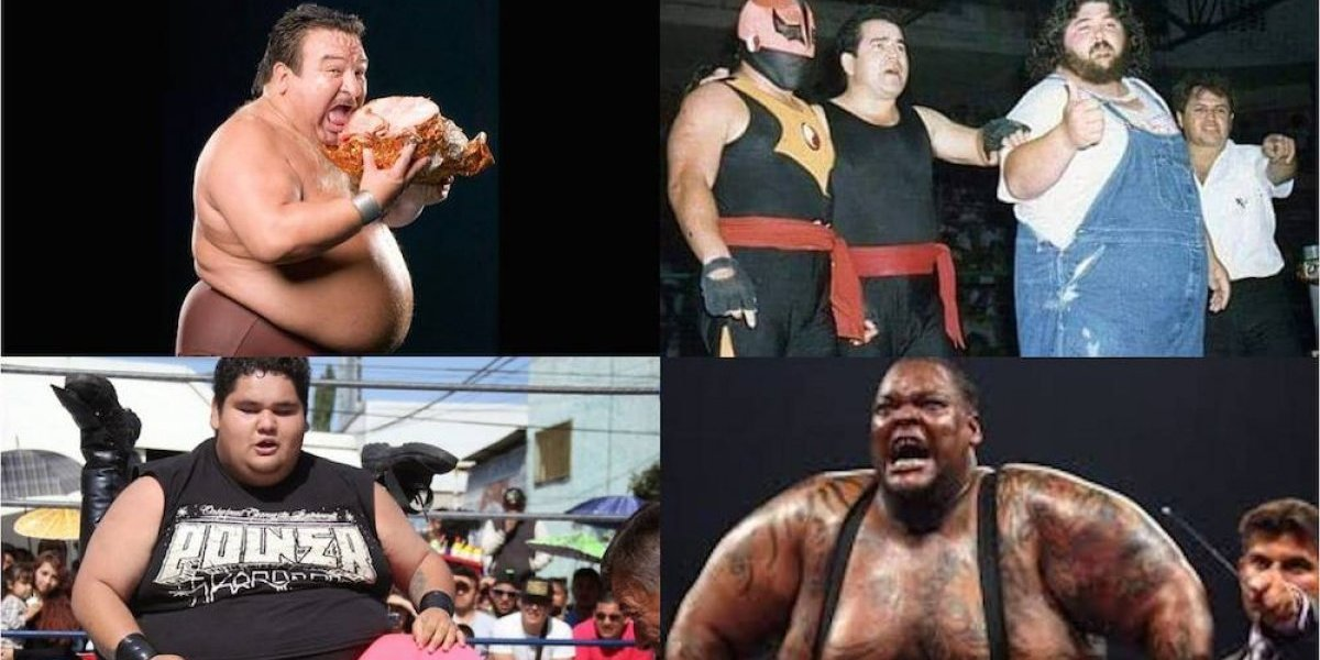 FOTOS: Los 'gorditos' de la lucha libre