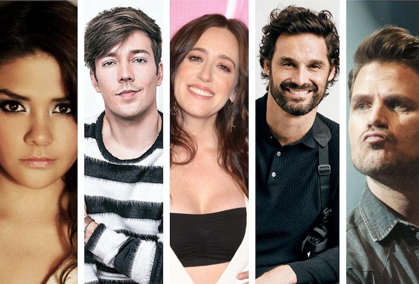 ¿Qué harán algunos famosos en Navidad y Año Nuevo?