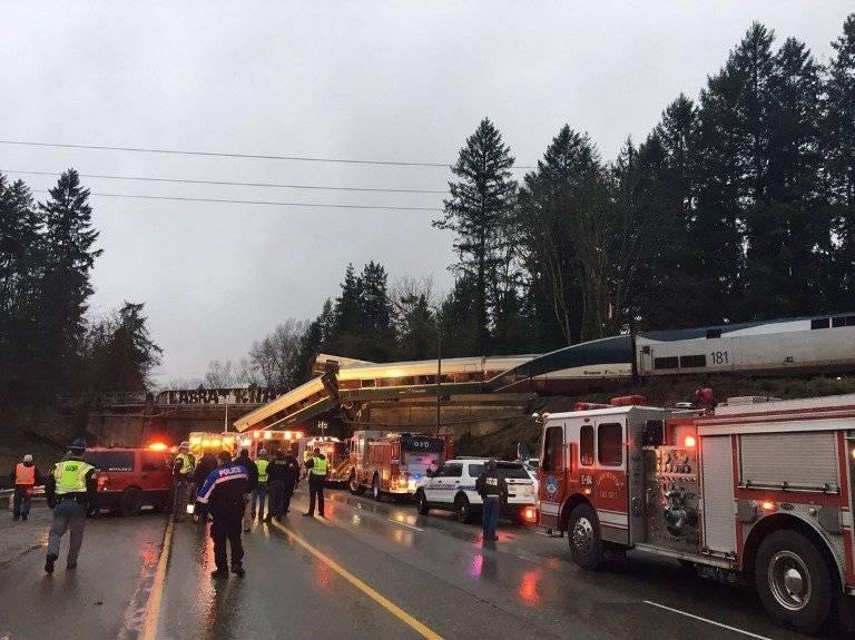 Accidente de tren en Washington