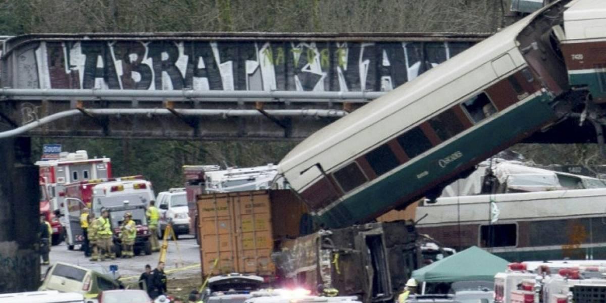 Revelan nuevos detalles del mortal accidente de tren en Washington