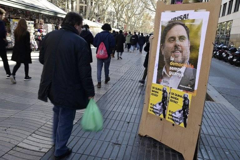 Campaña electoral en Cataluña