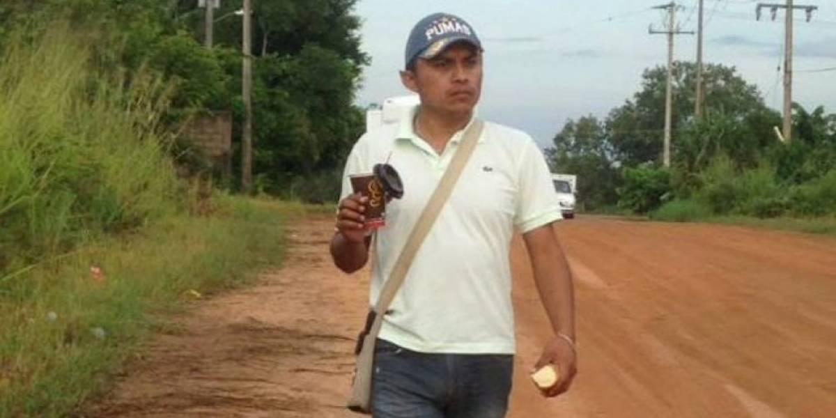 Balean a periodista Gumaro Pérez en festival navideño de su hijo en Veracruz