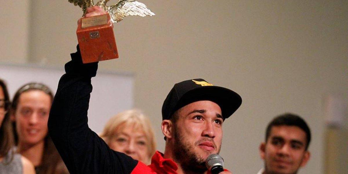 El Cóndor fue hasta el cielo: La emotiva dedicatoria que tuvo el premio de Arley Méndez