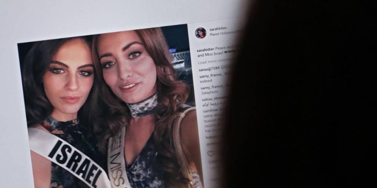 Familia de Miss Irak debe huir a EEUU por amenazas de muerte tras selfie con Miss Israel