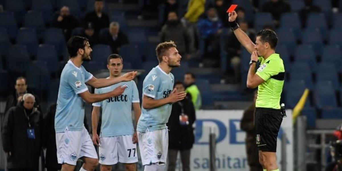 """Todo por """"culpa"""" del VAR: Hinchas de Lazio llevan a la justicia italiana a un árbitro"""