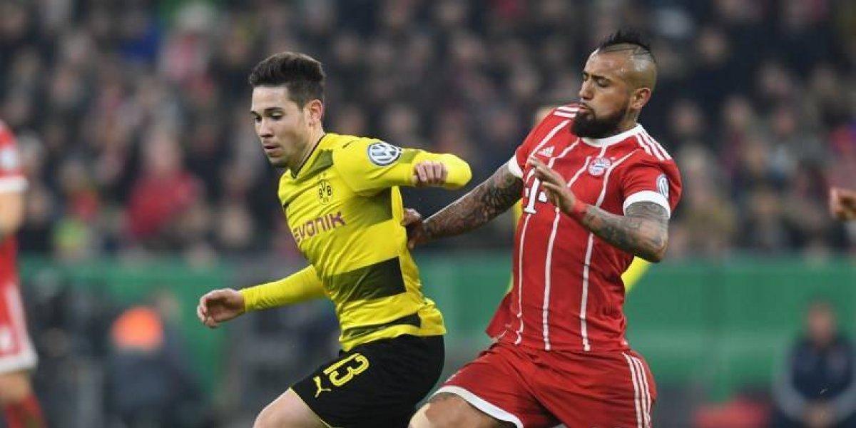 El Bayern de Vidal tomó revancha en el clásico y pasó a cuartos de la Copa de Alemania