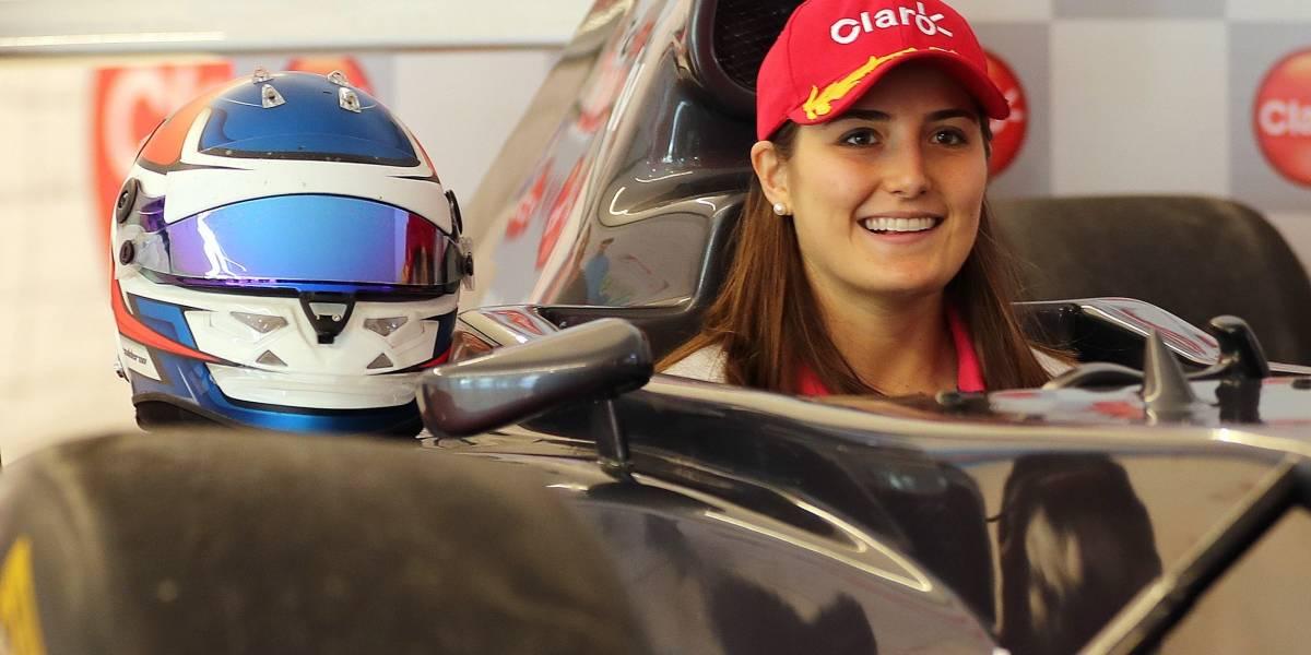 """Tatiana Calderón: """"mi sueño es ser la primera mujer en 40 años en la Fórmula 1"""""""
