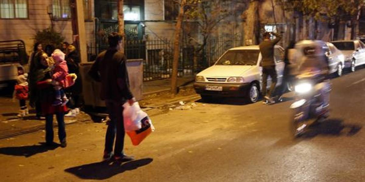 Terremoto de magnitud 5,2 sacude Teherán-Irán