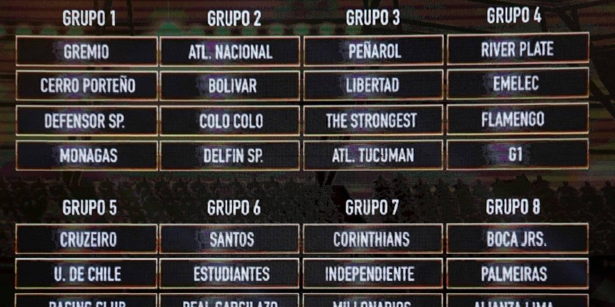 Los memes que dejó el sorteo de la Copa Libertadores 2018
