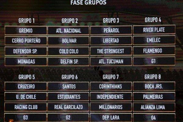 Colo Colo y la U tuvieron distinta suerte en la Libertadores / imagen: Agencia EFE