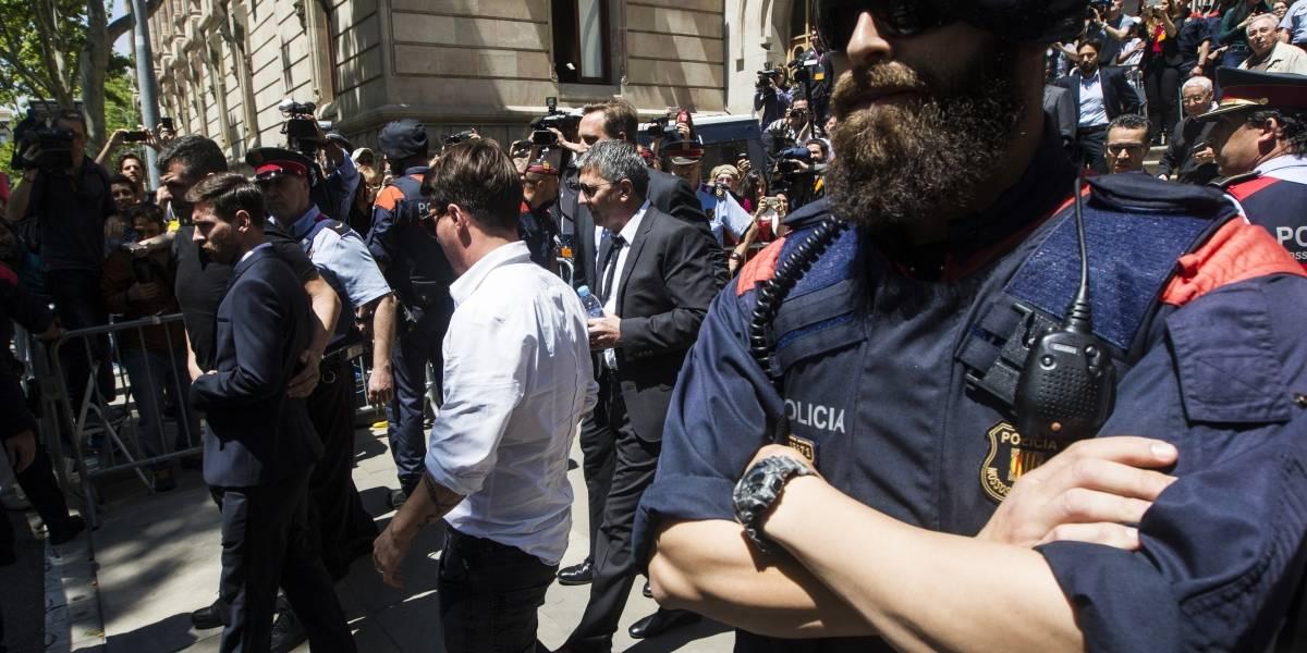 Hermano de Lionel Messi fue liberado con una millonaria fianza
