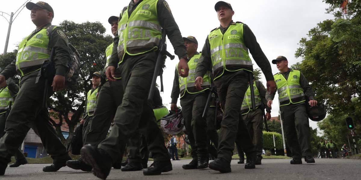 Detenido patrullero de la Policía por agredir con una correa a su superior