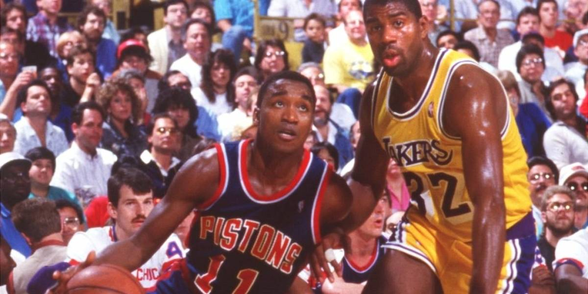 Emotiva reconciliación entre Magic Johnson e Isiah Thomas