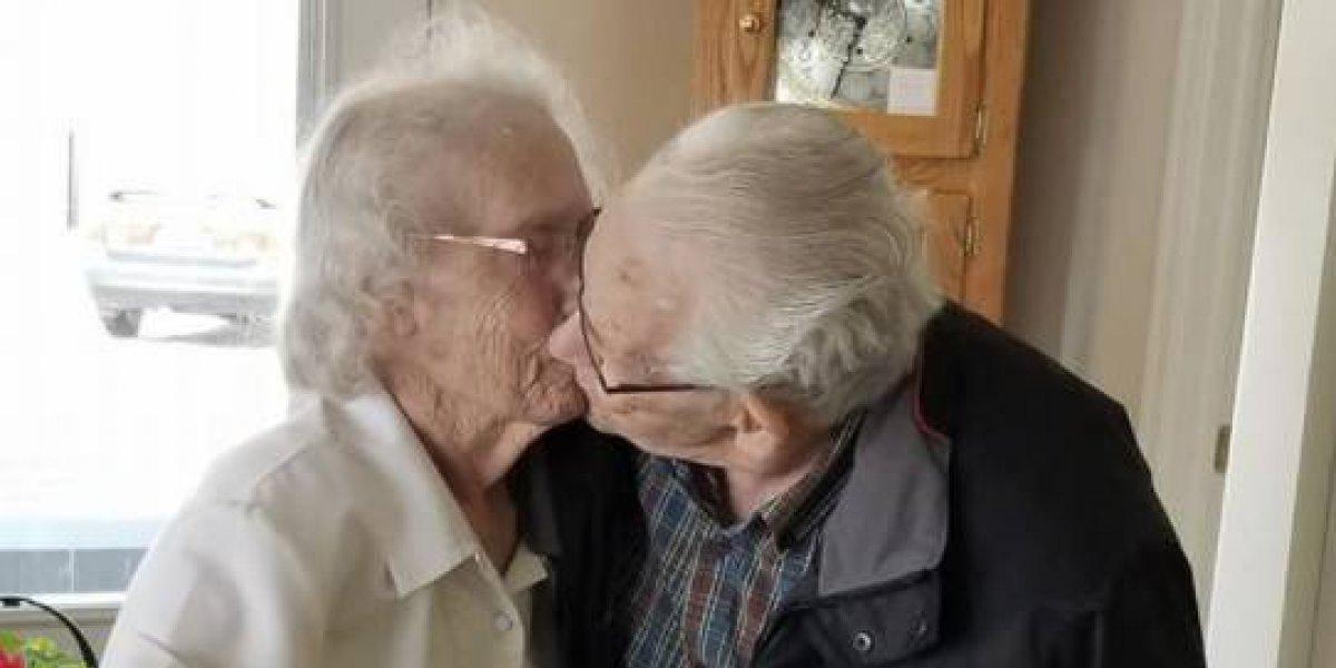 Han estado 73 años juntos y los separaron días antes de navidad