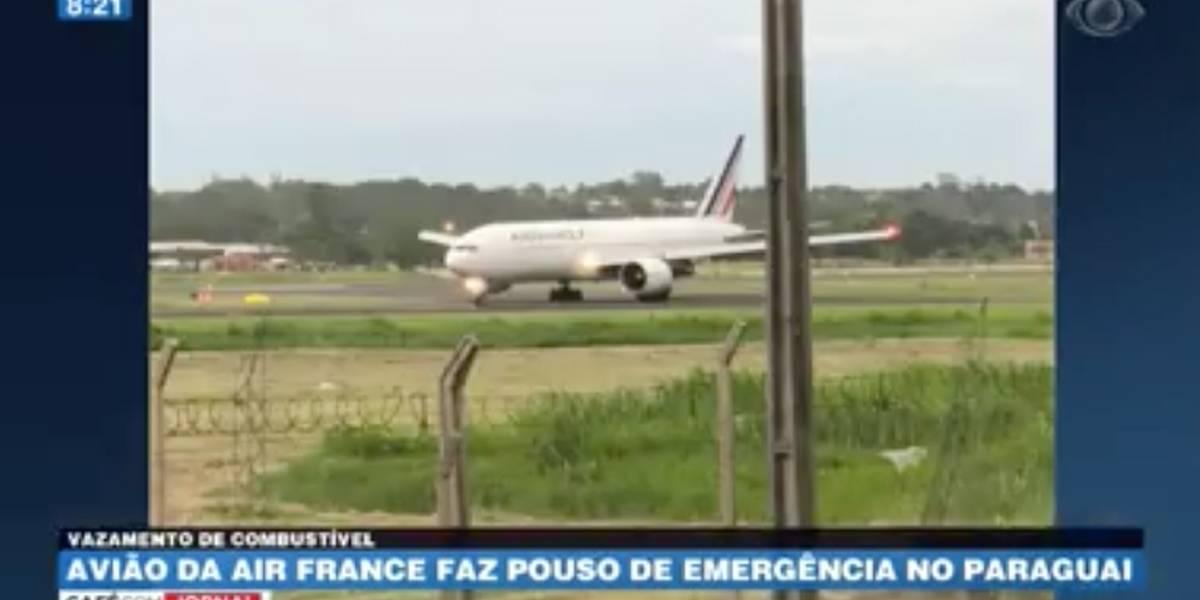 Avião da Air France faz pouso forçado no Paraguai