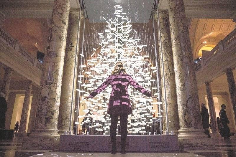 Cantando el árbol de Navidad