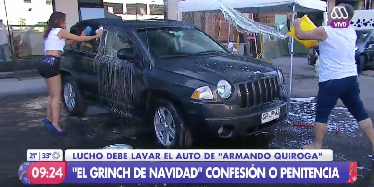 Las poleras mojadas de Ivette Vergara y Lucho Jara que provocaron críticas y halagos en redes sociales