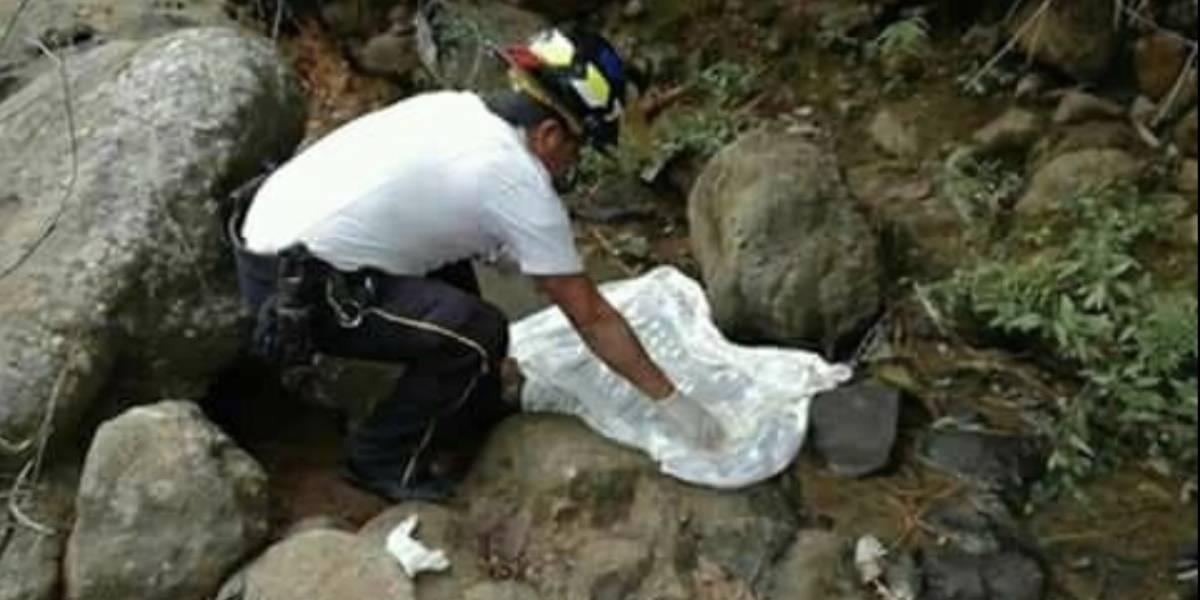 Indignación y repudio por hallazgo de un bebé en un río de Jalapa