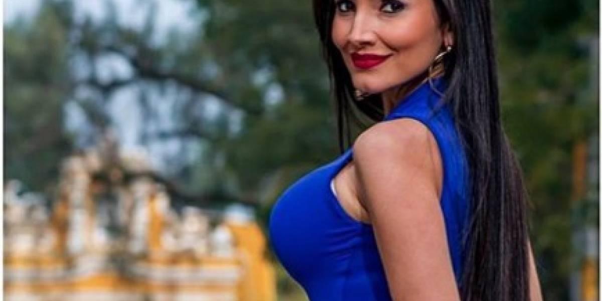 El escote de Massiel Carrillo que muestra a la perfección sus atributos