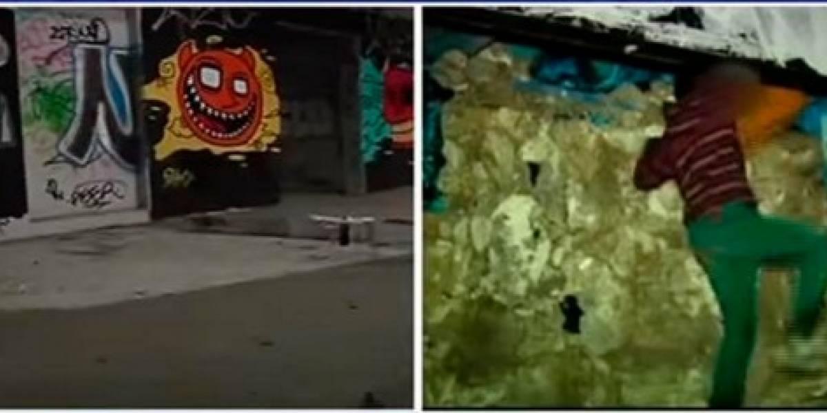Video: Esta es la realidad de un grupo de niños que vive en una discoteca abandonada