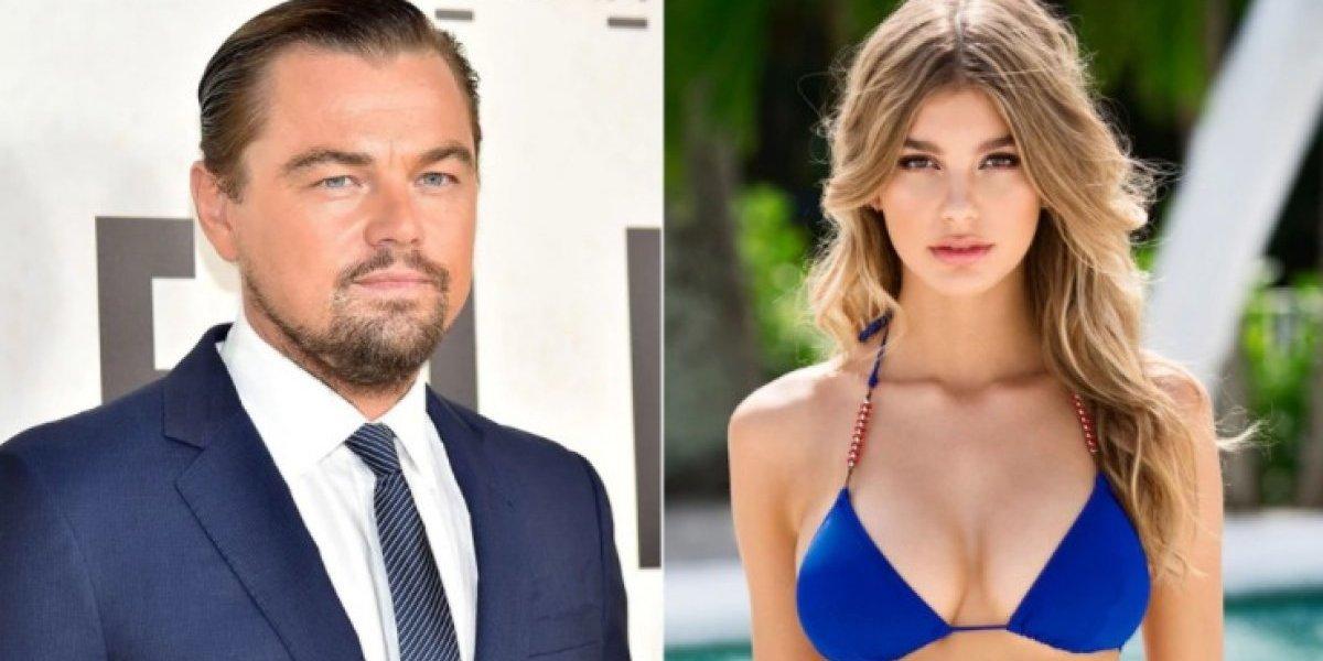 DiCaprio é flagrado com modelo argentina 23 anos mais nova
