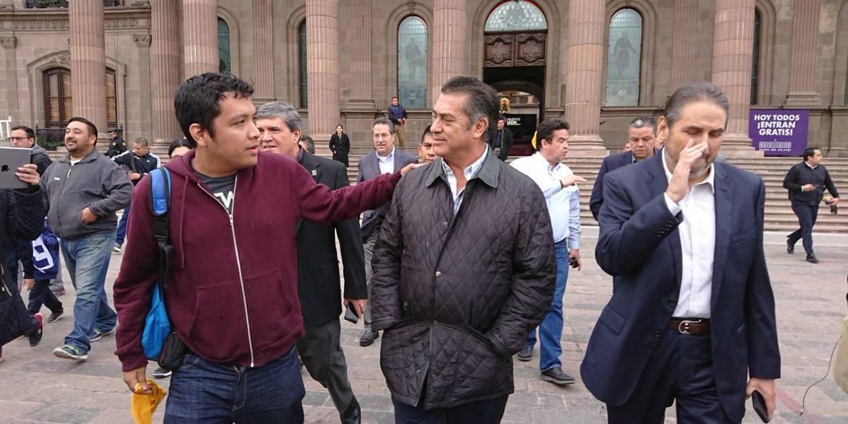 'El Bronco' solicita licencia como gobernador de Nuevo León