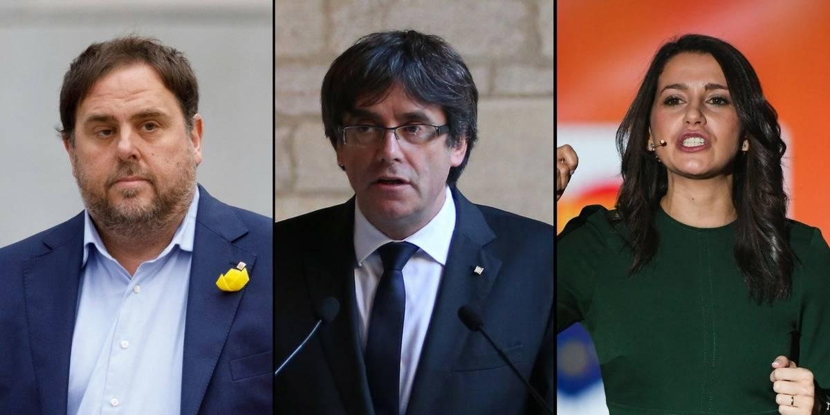 21-D: ¿Quiénes son los candidatos en las elecciones de Cataluña?