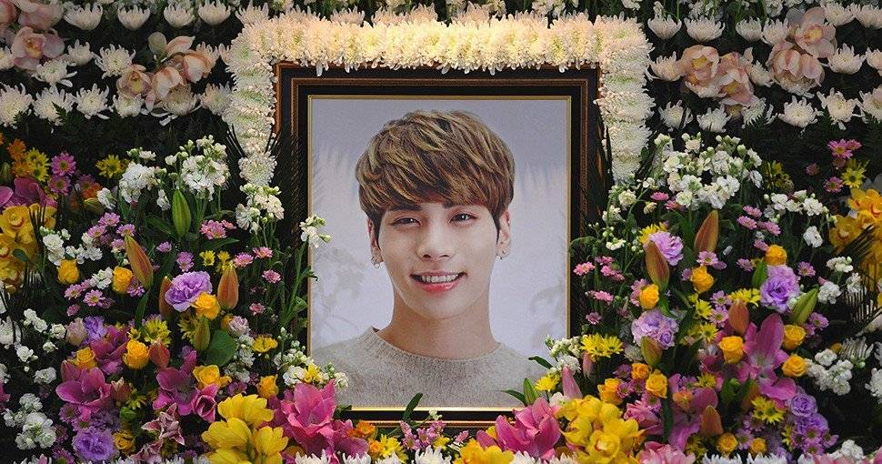 funeral de Jonghyun