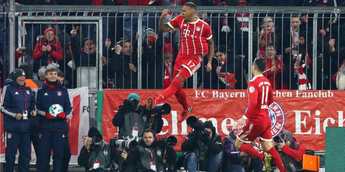 Así vivimos el triunfo del Bayern de Vidal sobre Dortmund en la Copa de Alemania