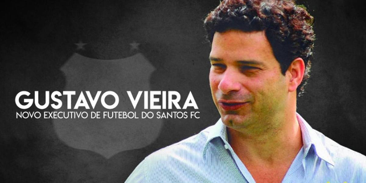 Sobrinho de Raí, Gustavo Vieira é o novo executivo de futebol do Santos