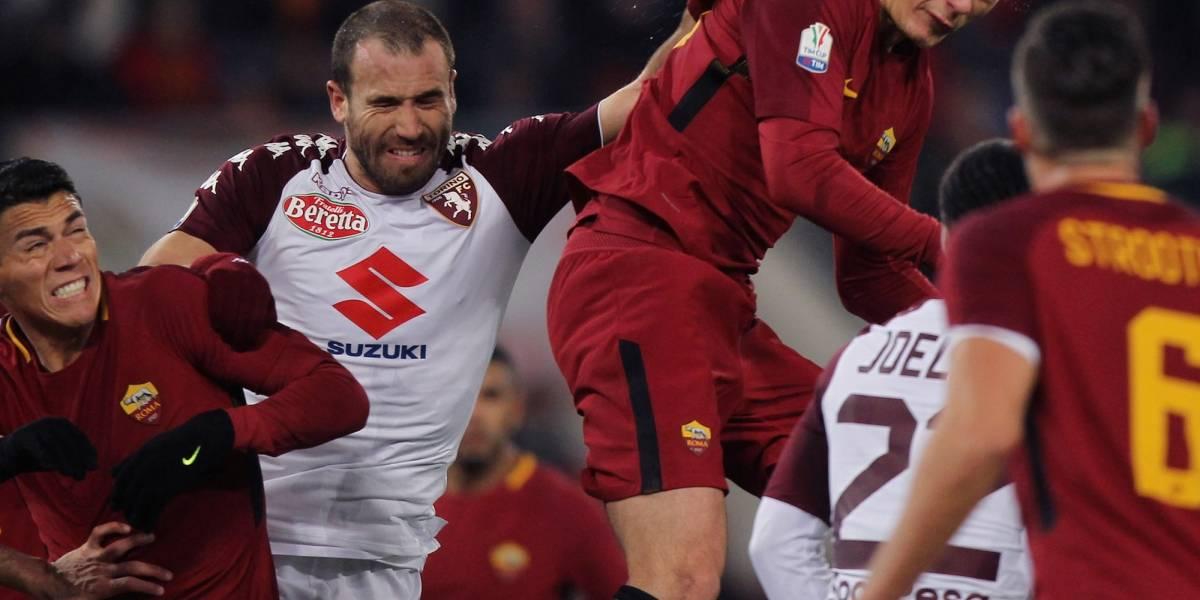 Con todo y Héctor Moreno La Roma fue eliminada de la copa